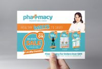 Pharmacy Flyer Template  Psd Ai  Vector  Brandpacks regarding Pharmacy Brochure Template Free