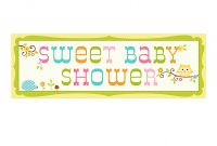 Photo  Baby Shower Banner Template Image throughout Baby Shower Banner Template