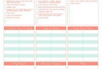 Photo  Baby Shower Menu Checklist Image with Menu Checklist Template