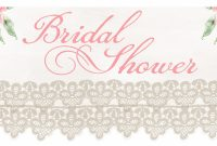 Photo  Bridal Shower Banner Template Image throughout Bridal Shower Banner Template