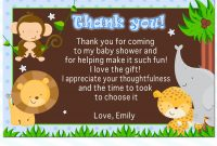 Photo  Sewed Thank You Cards Image with regard to Template For Baby Shower Thank You Cards