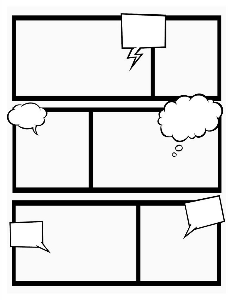 Photo Strip Template  Free Download Best Photo Strip Template On Intended For Printable Blank Comic Strip Template For Kids
