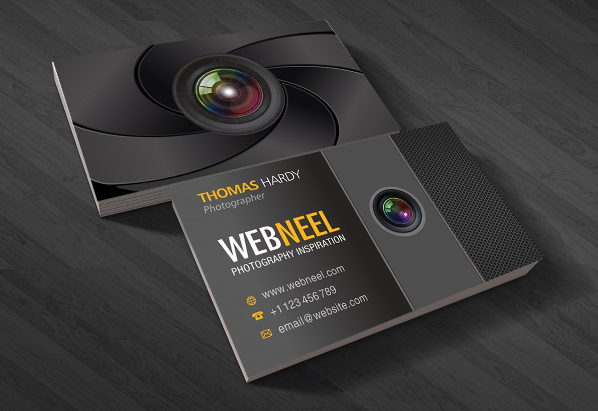 Photography Business Card Design Template   Freedownload Printing With Photography Business Card Templates Free Download