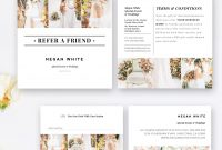 Photography Referral Card Template Wedding Planner Referral  Etsy within Referral Card Template