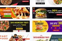 Photoshop Free Download – Food Banner Templates For Facebook  Youtube with Food Banner Template