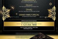 Pinbest Graphic Design On Flyer Templates  New Year Menu New within New Years Eve Menu Template