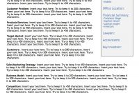 Pincheryl Springfels On Startup Pitch Decks  Executive Summary inside One Page Business Summary Template