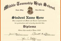 Pineric Mason On U  Free High School Diploma College Diploma with regard to School Certificate Templates Free
