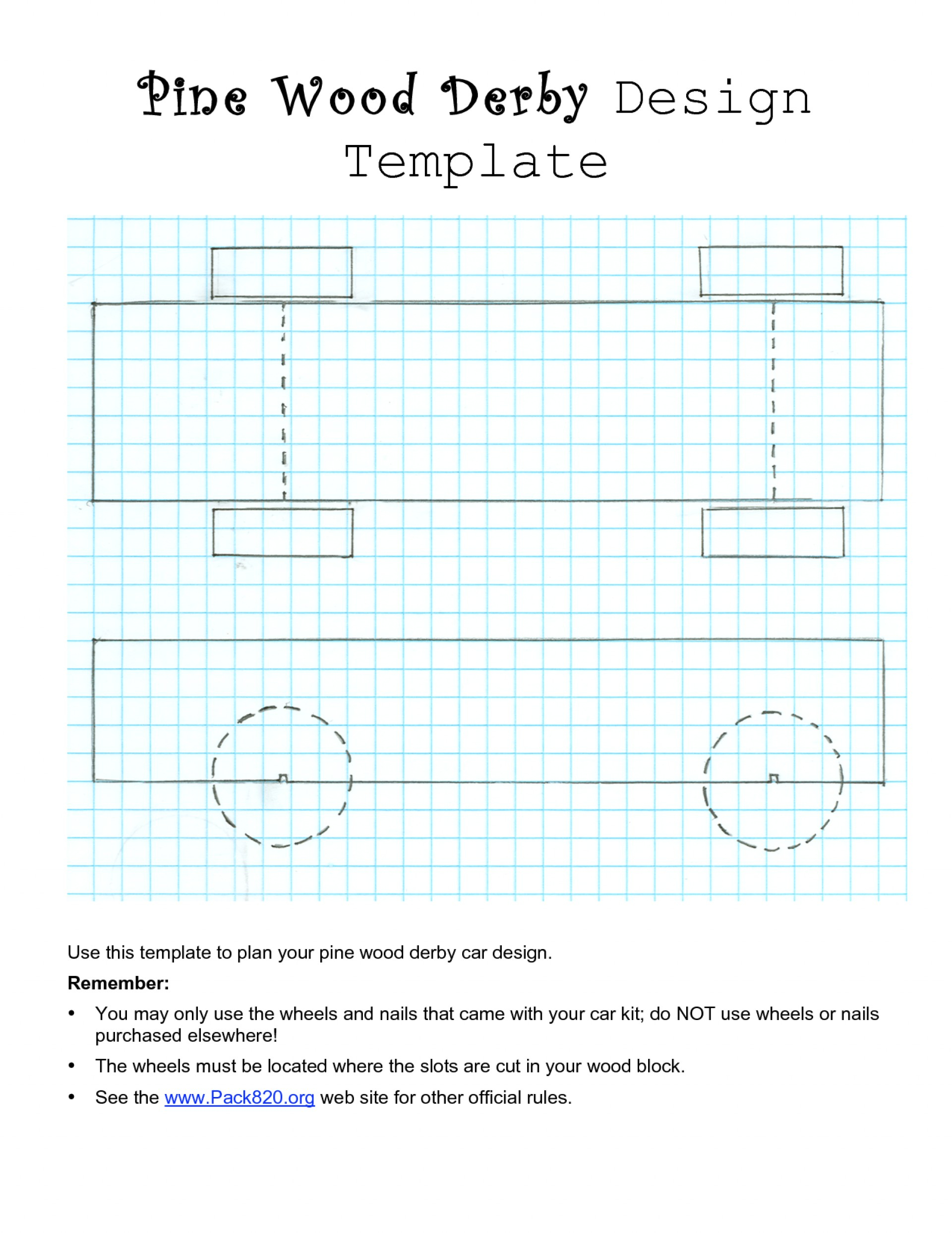 Pinewood Derby Car Template Wonderful Ideas Fastest Templates For Blank Pattern Block Templates
