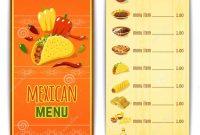 Pinigor Tikhonov On Menu  Mexican Food Menu Mexican Food with Mexican Menu Template Free Download