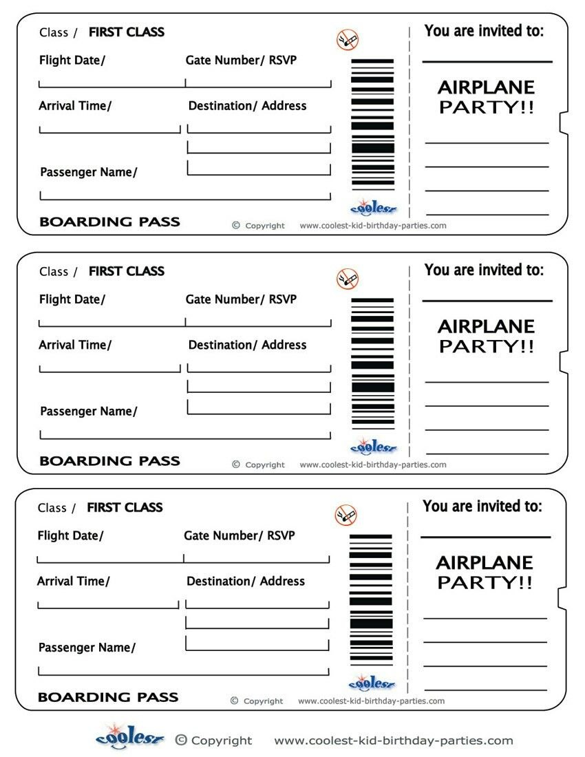 Pinmarne Syke On Liam's Bday And Christening  Ticket Template For Blank Parking Ticket Template