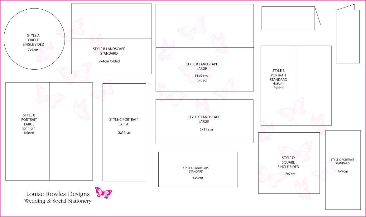 Place Cards Sizes  Layouts » Bespoke Wedding Stationery Save The Throughout Place Card Size Template