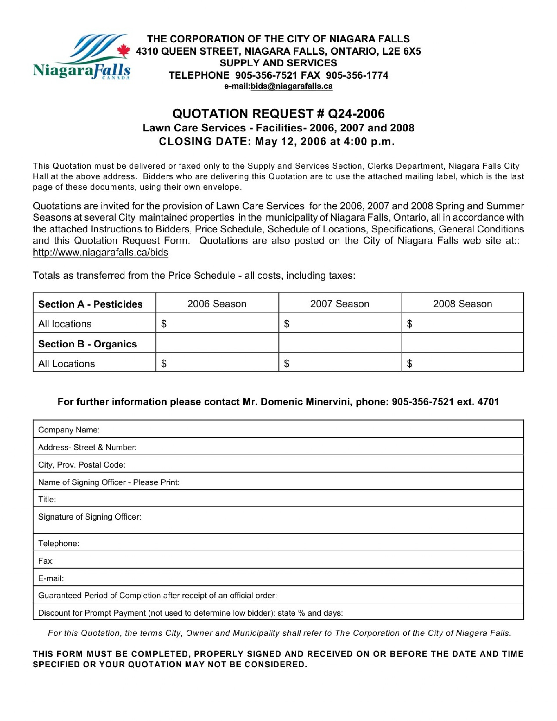 Plan Template Lawn Care Business Free Landscape Bid Example With Lawn Care Business Plan Template Free