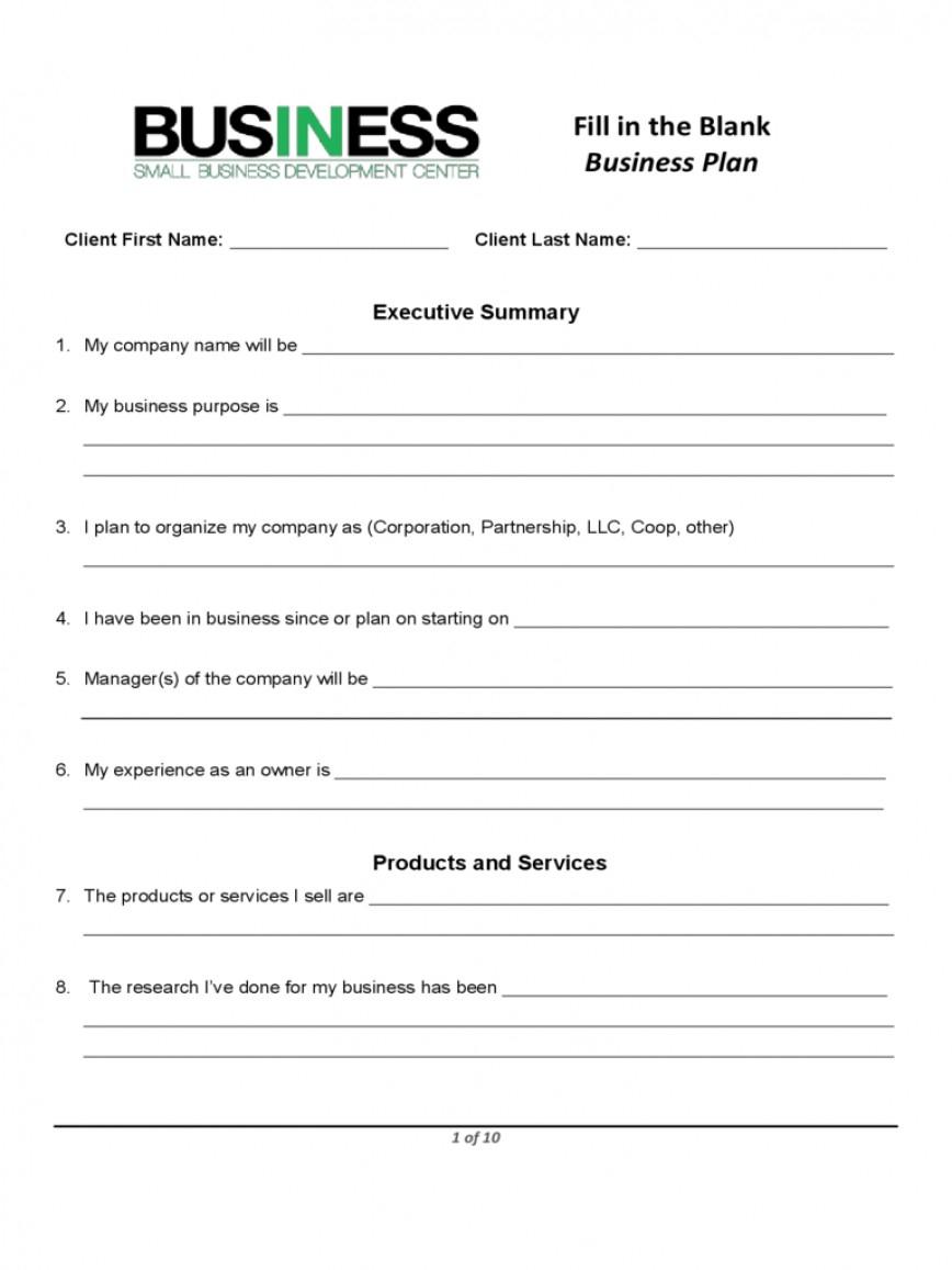 Plan Template Sba Business Doc Score Small For Startup Blank Fo Regarding Sba Business Plan Template Pdf