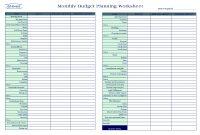 Plan Templates Business Budget Spreadsheet Template Monthly regarding Business Plan Spreadsheet Template Excel