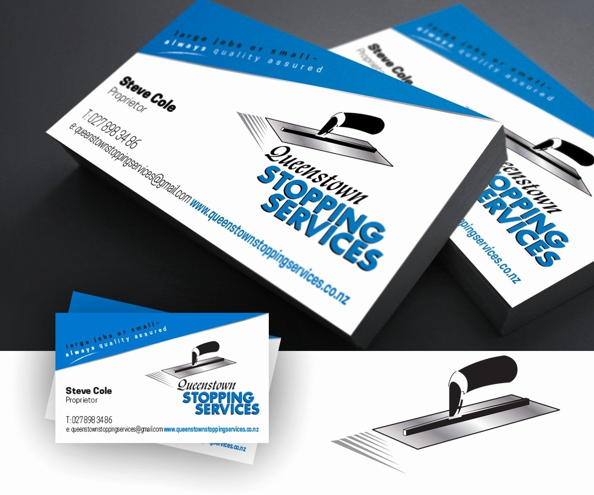Plastering Business Cards Of Business Business Card Design For Bds For Plastering Business Cards Templates