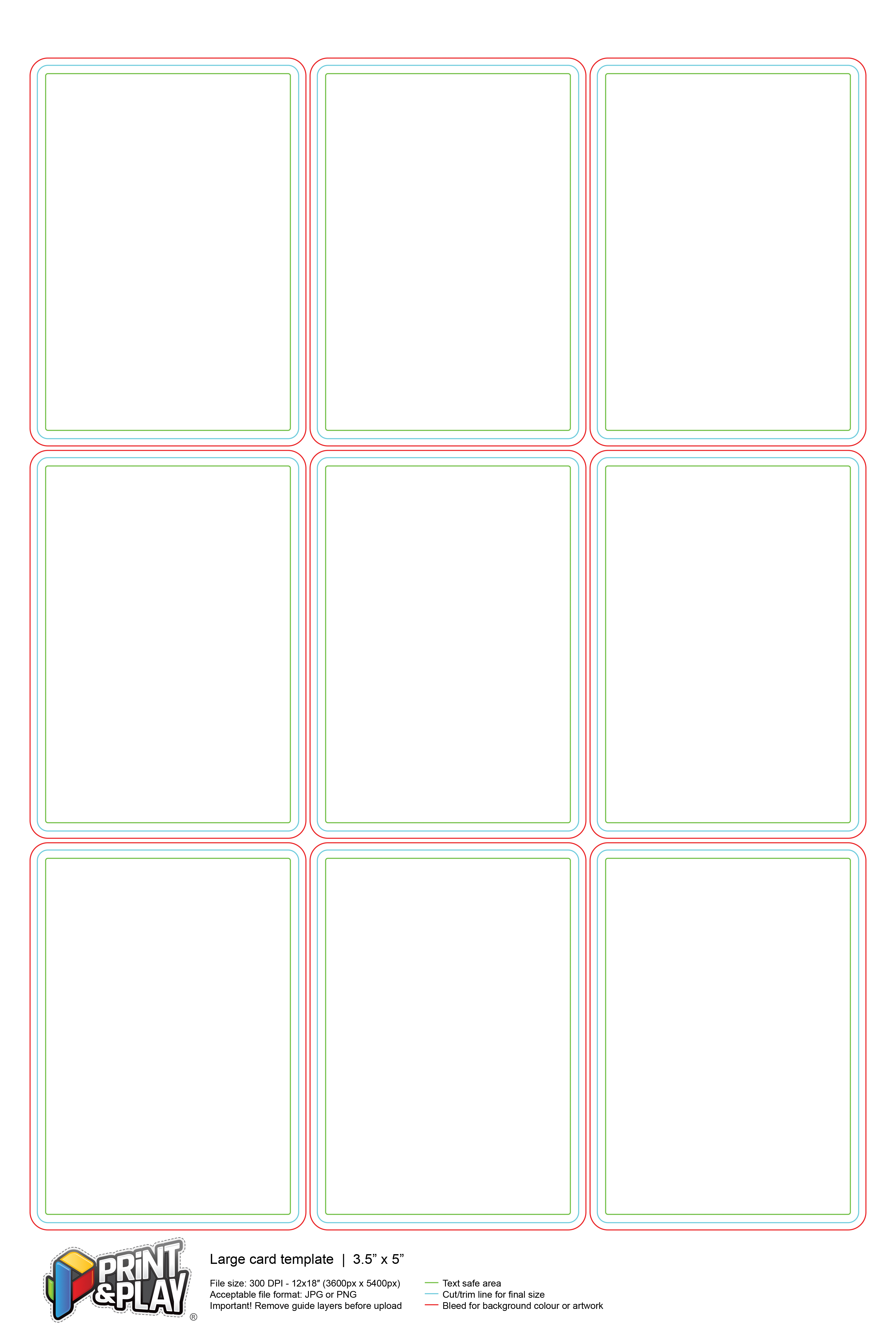 Playing Cards  Formatting  Templates  Print  Play In Custom Playing Card Template