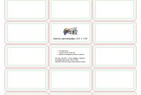 Playing Cards  Formatting  Templates  Print  Play throughout Playing Card Template Illustrator