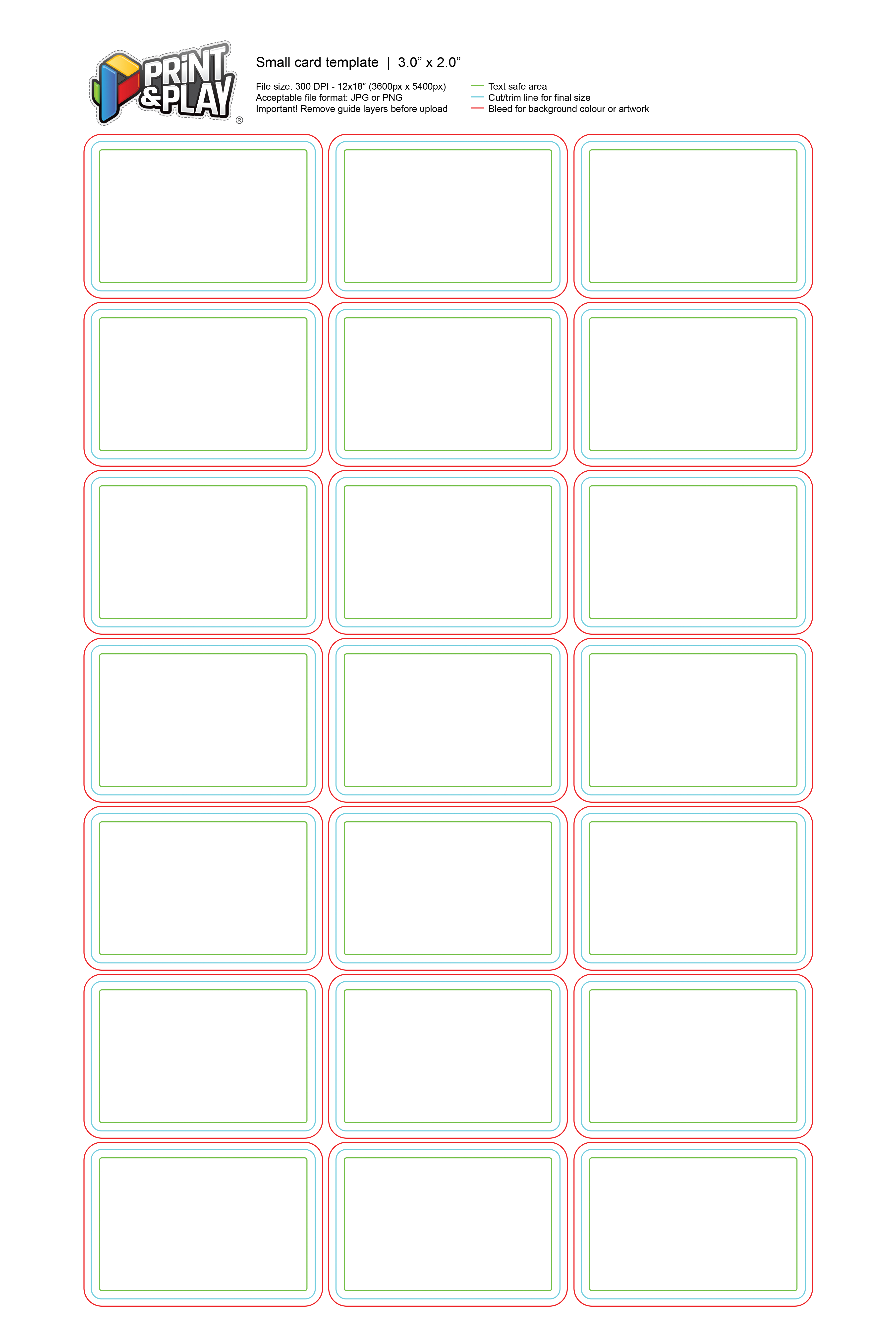 Playing Cards  Formatting  Templates  Print  Play With Regard To Playing Card Template Illustrator