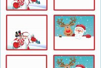 Pleasant Models Of Free Christmas Card Templates  Template Design pertaining to Printable Holiday Card Templates