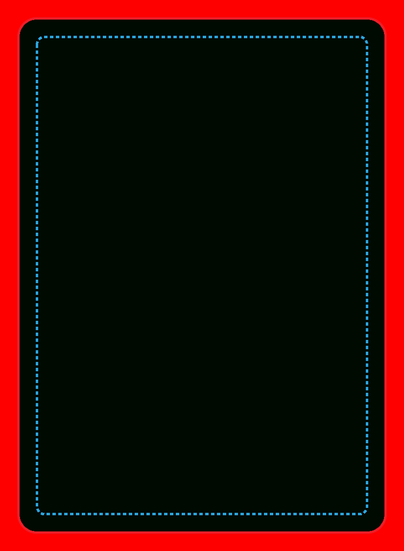 Poker Deck Within Blank Playing Card Template