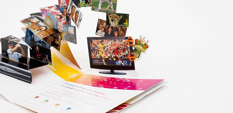 Popup Brochures  Papersmyths In Pop Up Brochure Template