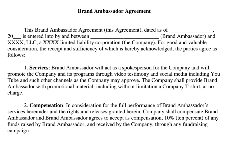 Portfolio – Mary Kogut Lowell Pa For Brand Ambassador Agreement Template
