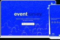 Postevent Satisfaction  Feedback Survey  Typeform Templates inside Post Event Evaluation Report Template