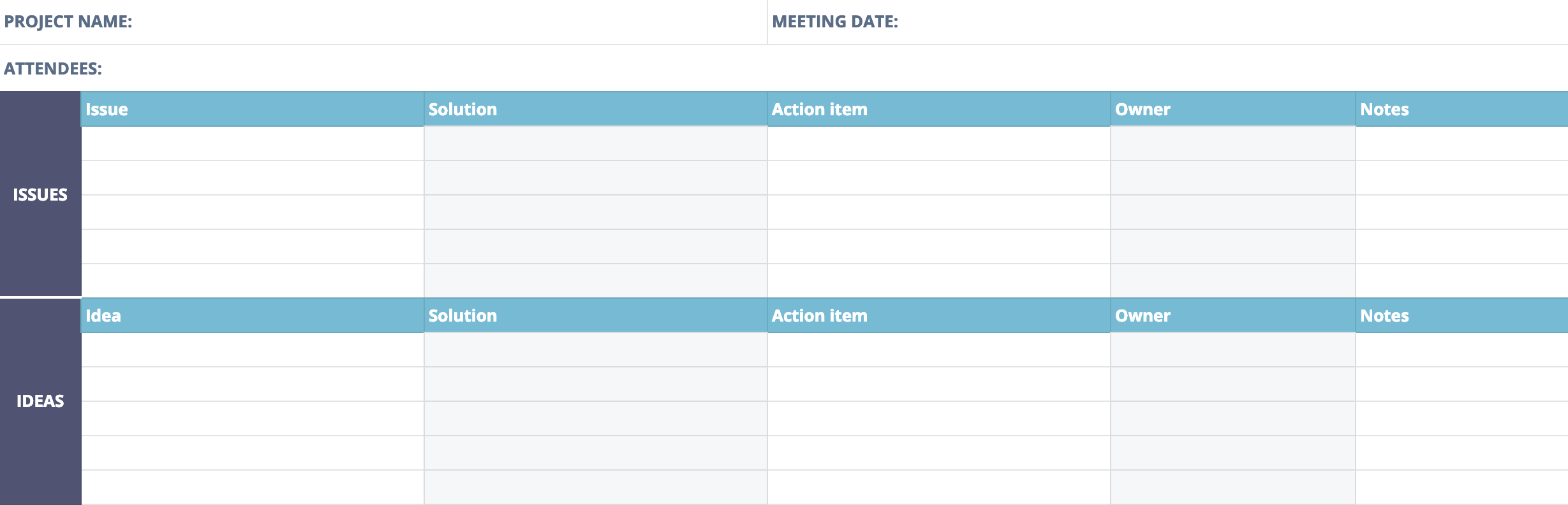 Postmortem Meeting Template And Tips  Teamgantt Inside Post Project Report Template