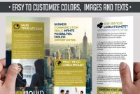 Powerful Free Adobe Indesign Brochures Templates Elegantflyer Throughout Adobe Indesign Tri Fold Brochure Template