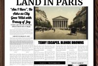Powerpoint Newspaper Template throughout Newspaper Template For Powerpoint