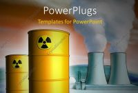Powerpoint Template Radioactive Waste From A Nuclear Power Plant inside Nuclear Powerpoint Template
