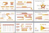 Powerpoint Template To Report Metrics Kpis And Project Development in Development Status Report Template