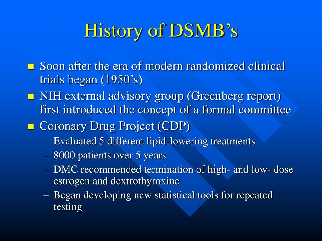 Ppt  Data And Safety Monitoring In Clinical Trials Powerpoint Inside Dsmb Report Template