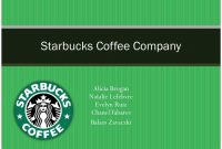 Ppt  Starbucks Coffee Company Powerpoint Presentation  Id inside Starbucks Powerpoint Template