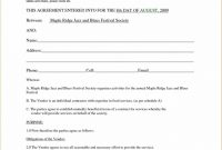 Preferred Supplier Agreement Sample regarding Preferred Vendor Agreement Template
