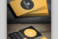 Premium Business Card Templates In Photoshop Illustrator pertaining to Create Business Card Template Photoshop
