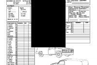 Premium Fleetlease Condition Report For Van Or Truck  Legal Forms inside Truck Condition Report Template