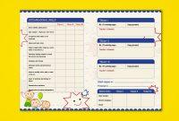 Prenursery Report Card On Behance  Report Card Ideas  School throughout Kindergarten Report Card Template