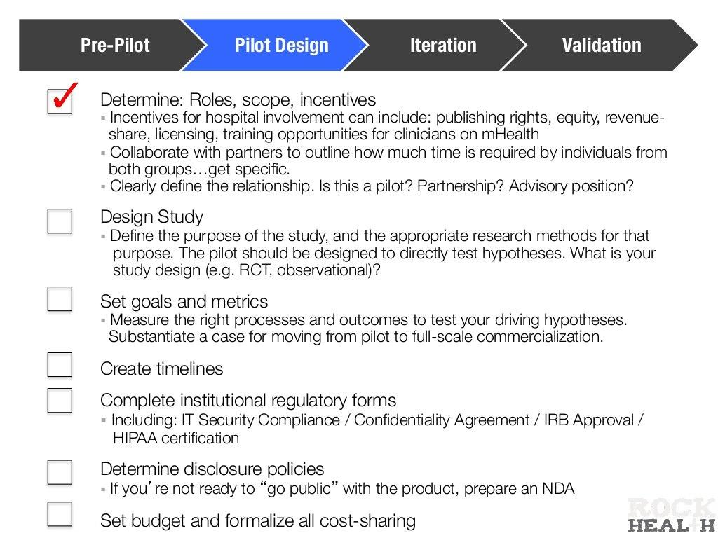 Prepilot Pilot Design Iteration Within Pilot Test Agreement Template