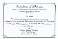 Presbyterian Baptism Certificate Template Of Forte Euforic Co intended for Christian Certificate Template