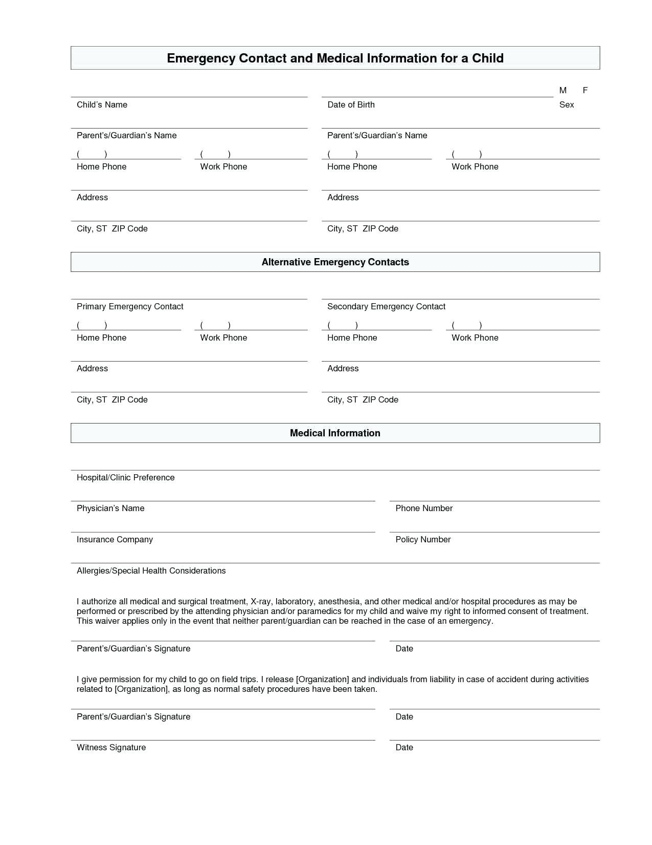 Preschool Daily Report Template Ideas Free Daycare Forms Throughout Daycare Infant Daily Report Template