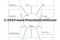 Preschool Lesson Plan Template  Lesson Plan Book Template regarding Blank Food Web Template
