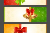 Present Card Template Royalty Free Vector Image throughout Present Card Template