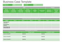 Prestudy And Business Case  It Standard For Business pertaining to Business Case Calculation Template