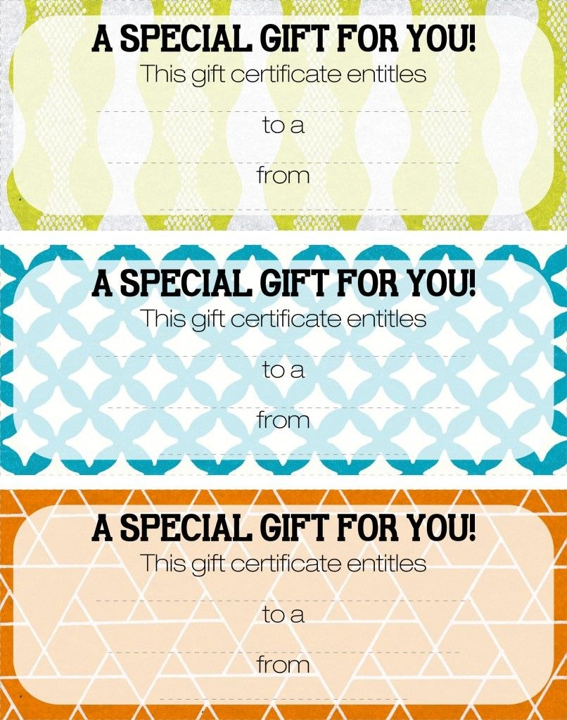 Pretty Printable Coupons Give This To Let Them Know They Are For Magazine Subscription Gift Certificate Template