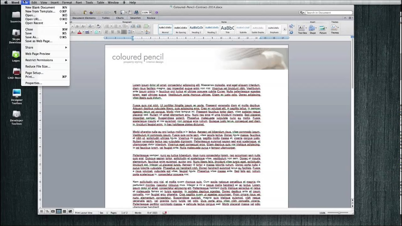 Print A Borderless Pdf From Microsoft Word Document  Youtube Intended For Borderless Certificate Templates