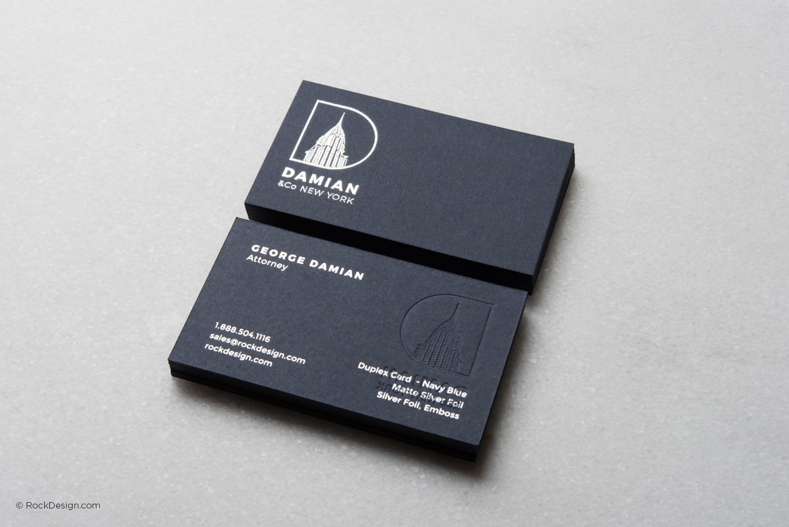 Print Online Embossed Logo Card Templates  Rockdesign Within Buisness Card Template