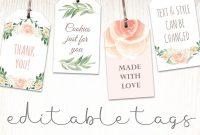Printable Baby Shower Labels  Bridal Shower Favor Tags  Hands In for Bridal Shower Label Templates
