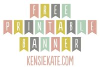 Printable Banner Letters  Download Them Or Print pertaining to Printable Banners Templates Free